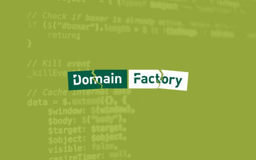 Domainfactory gehackt